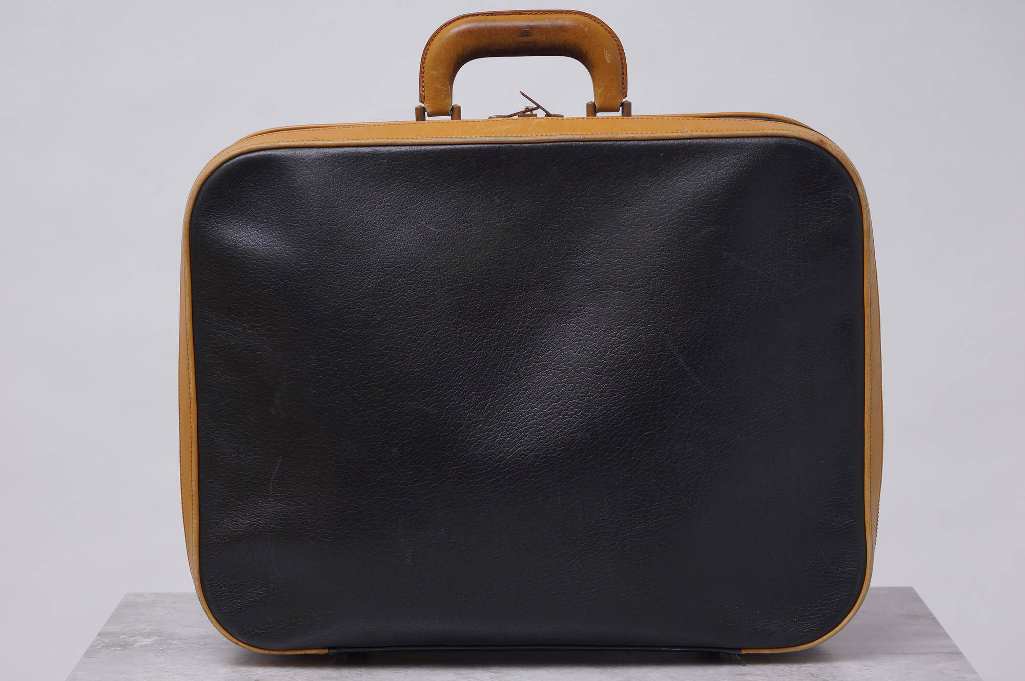 HERMES Hermes business bag briefcase . trunk attache case France made men s  leather leather b8947 e8989c9a6544b