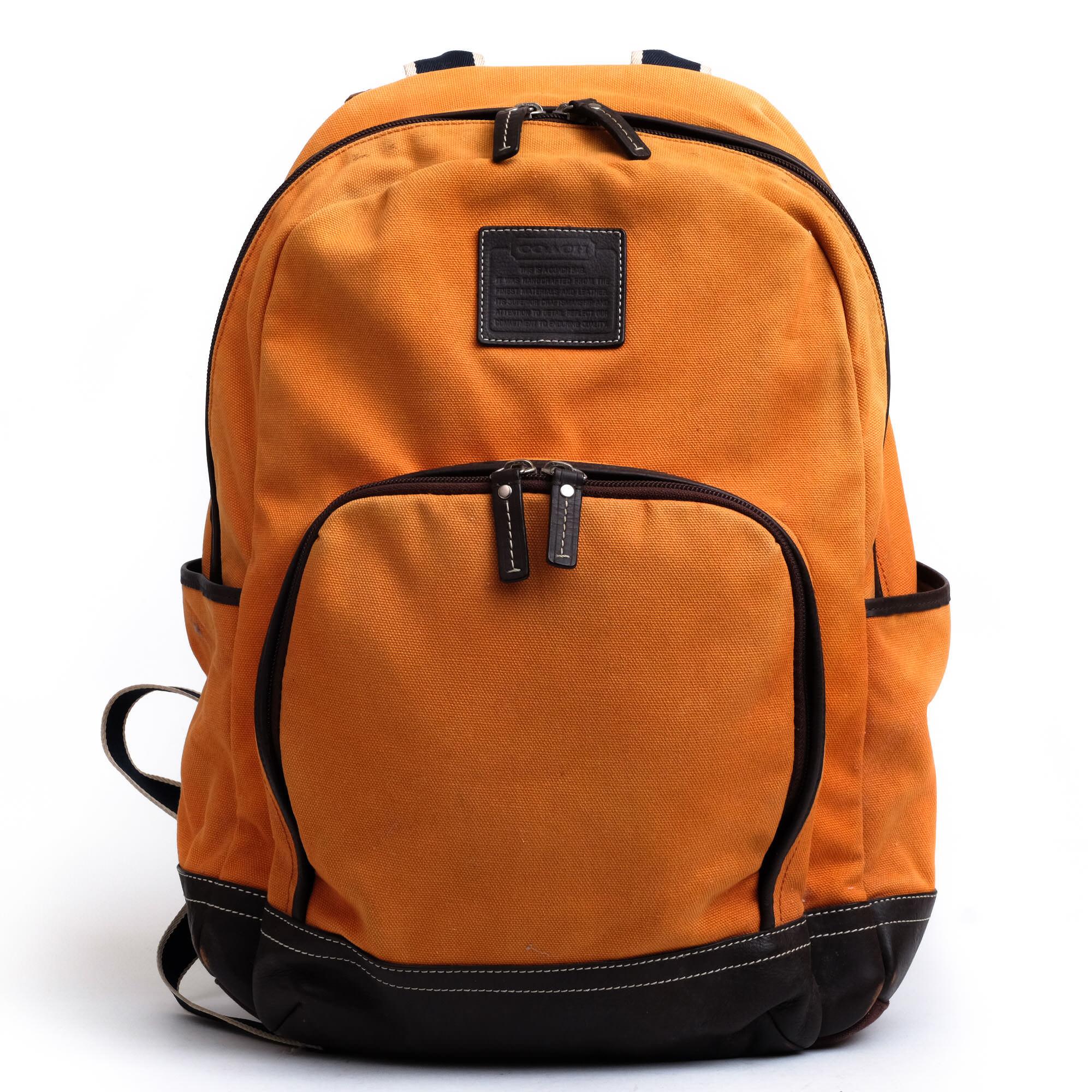 024c544be93a コーチ / COACH リュック メンズ オレンジ - ブランディング