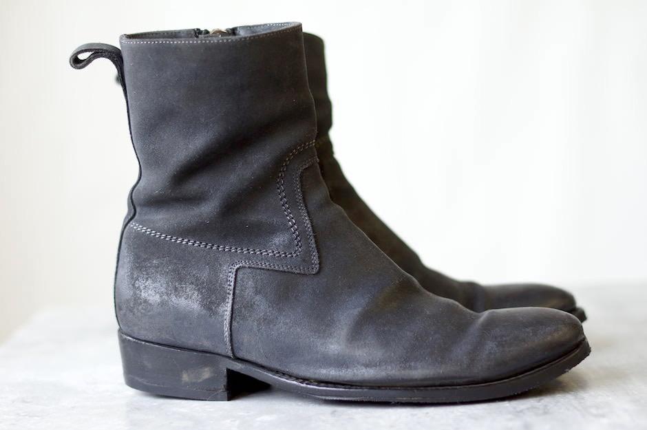 pretty nice b4c2e 758e9 ディオールオム / Dior HOMME ブーツ メンズ ブラック 黒 サイドジップ