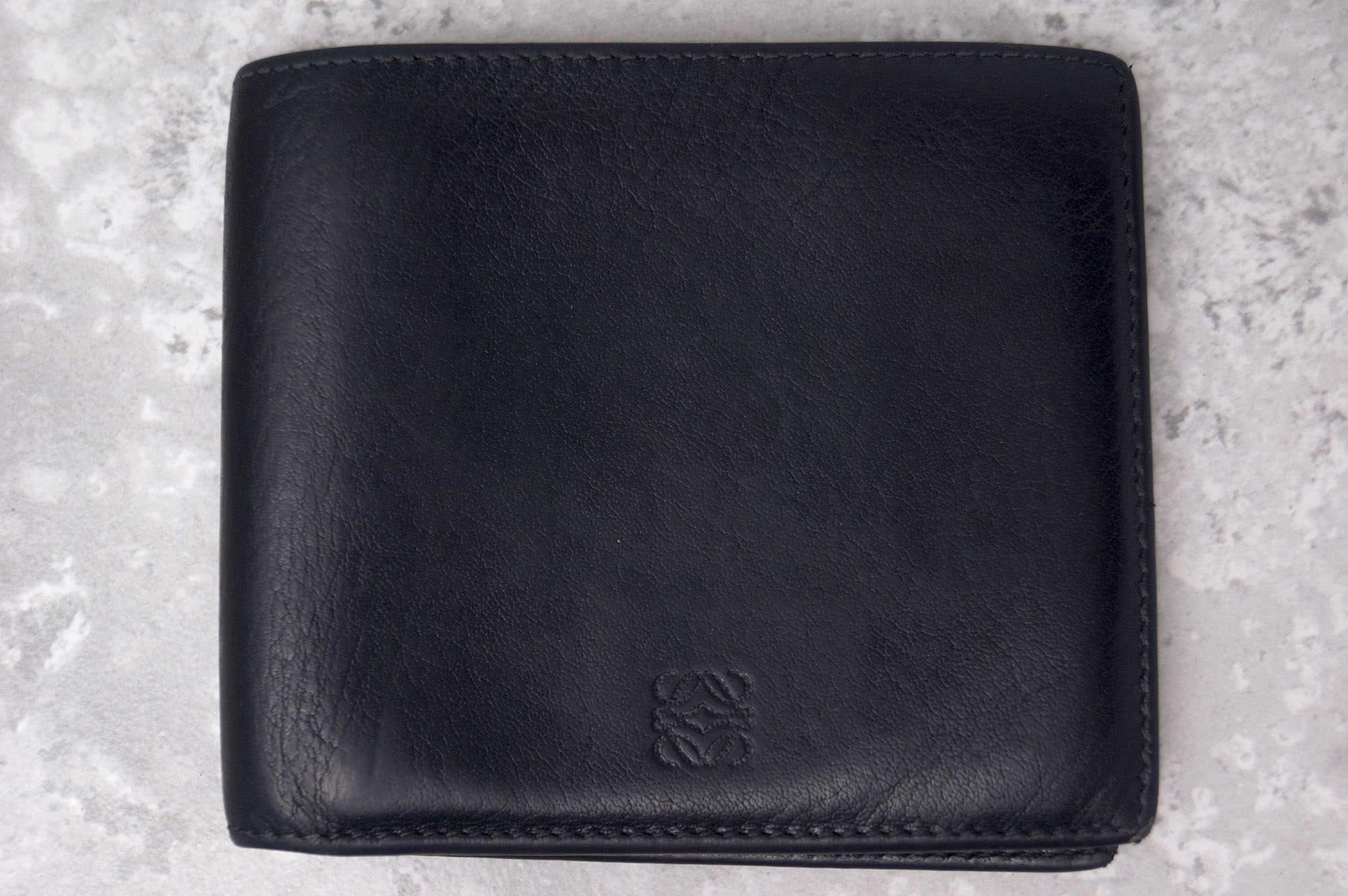 best website 4bb86 1a61e ロエベ / LOEWE 財布 メンズ ブラック 黒 二つ折り 札入れ