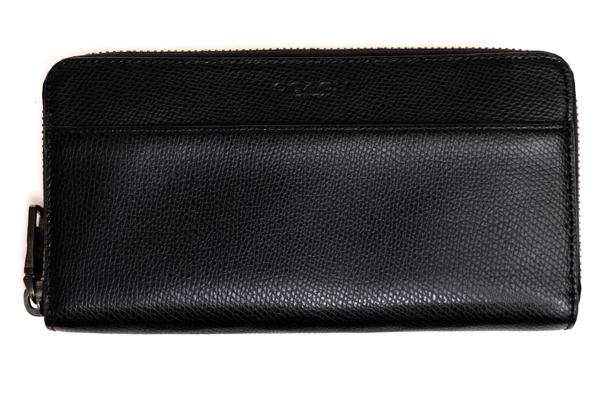 buy online 3e7af d39d8 コーチ / COACH 長財布 メンズ ブラック 黒