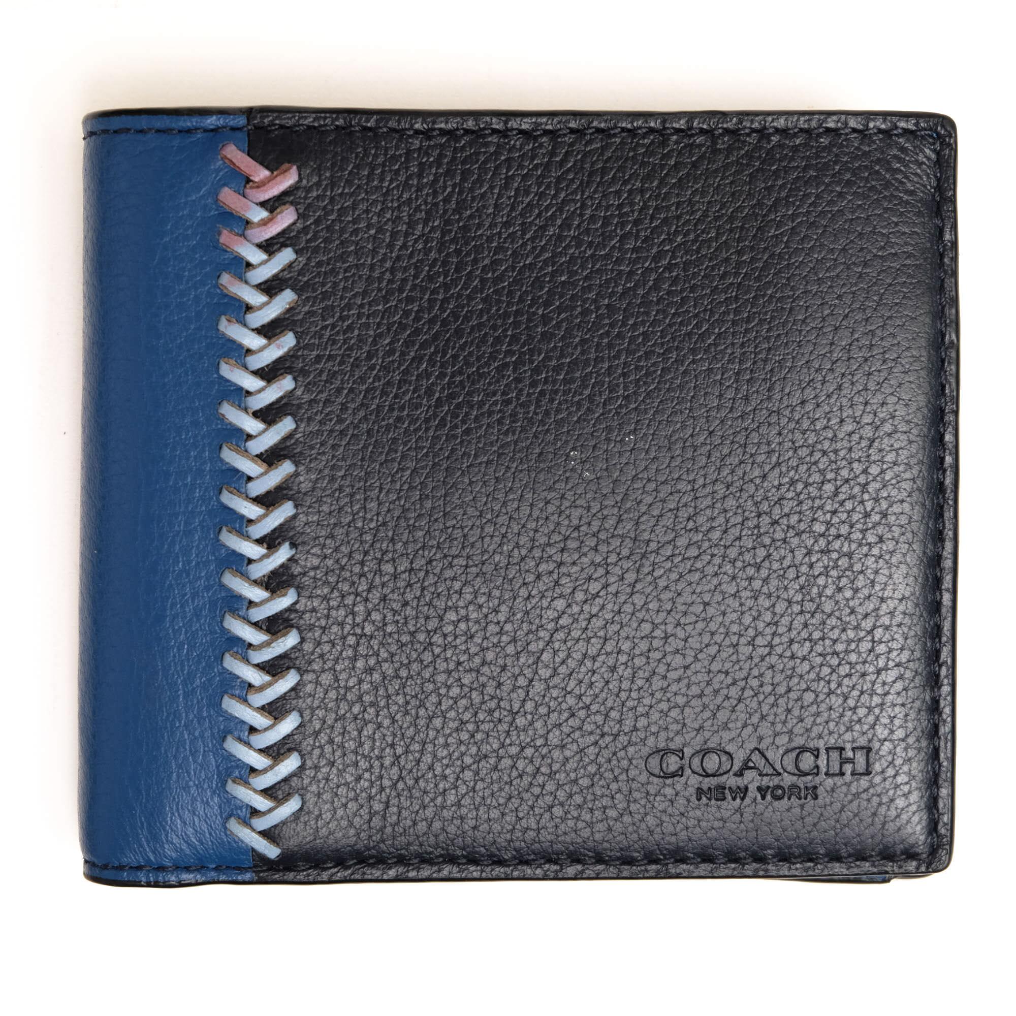 new product 5961b 0ef7b コーチ / COACH 財布 メンズ ブルー 青