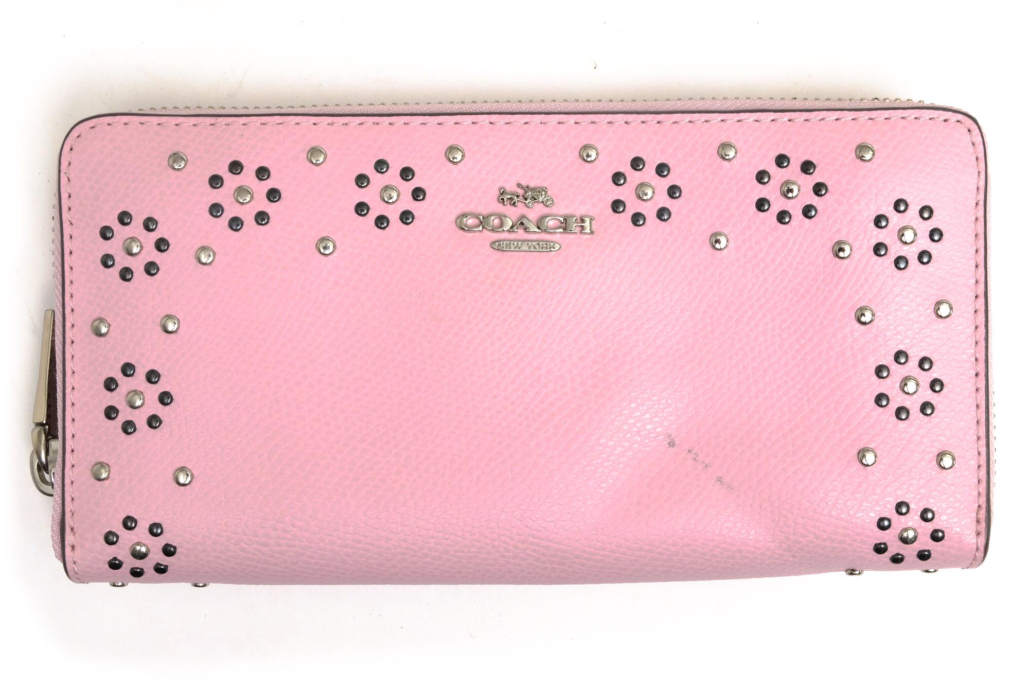 brand new 9e9eb f45a8 コーチ / COACH 長財布 レディース ピンク
